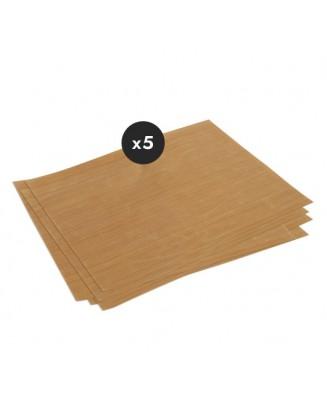 Feuille de tissu de verre (x5)