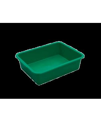 Bac rectangulaire vert 20L...
