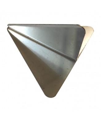 Poussoir triangle inox