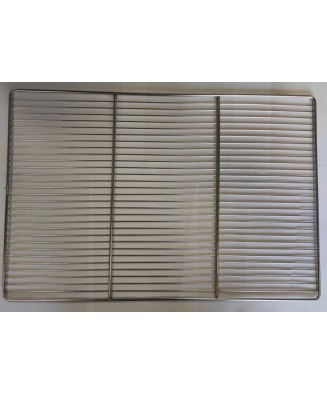 Grille plate inox 2...
