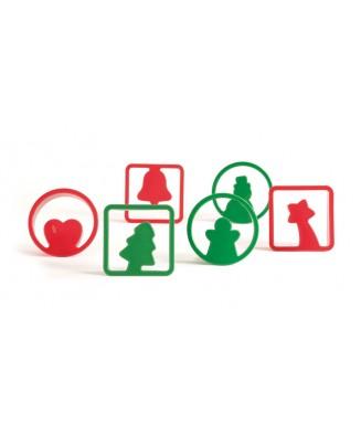 Emporte-pièces cookies de Noël