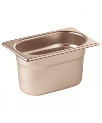 Bac gastronorme GN 1/9 inox