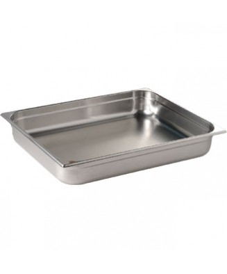 Bac gastronorme GN 2/1 inox