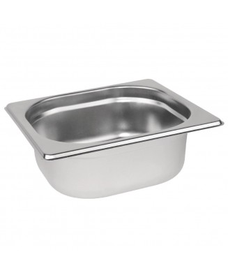 Bac gastronorme GN 1/6 inox