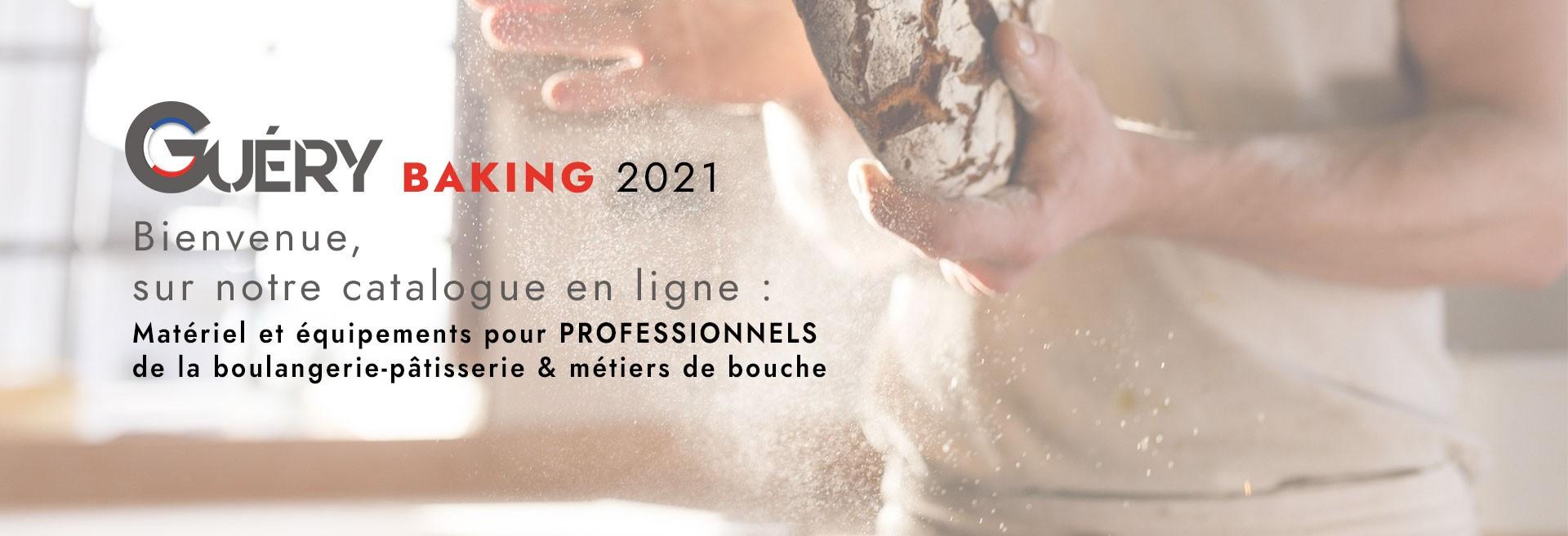 Catalogue Boulangerie-Pâtissierie BAKING Guery